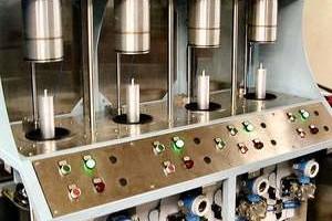 Fuel filter leak tester