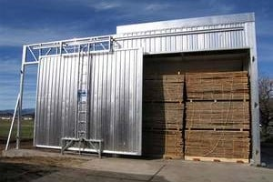 Hot Water Timber Drying System