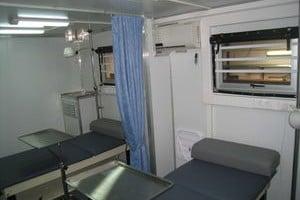 Mobile circumcision laboratory container