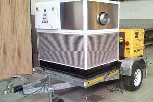 Mobile cooling unit