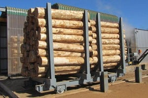 Veneer Log Conditioning Chamber