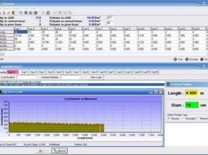 Timber Log Scanning Sysample page of tfd scanning softwarestem